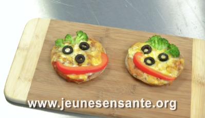 Pizzas sourire