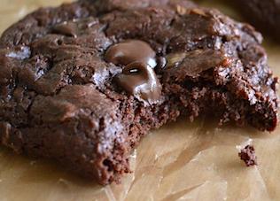 Biscuits moelleux chocolatés