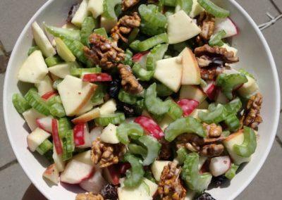Salade de pommes et céleri