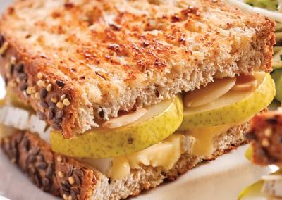 Sandwich sur le pouce