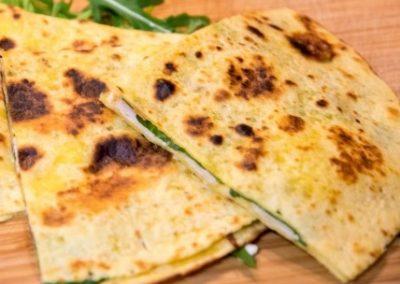 Pointes de tortillas thon et pommes