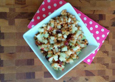Salade de lentilles et pommes