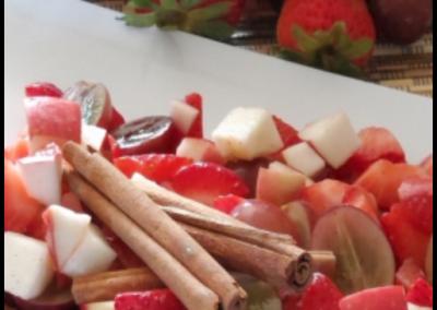 Fruité à la cannelle
